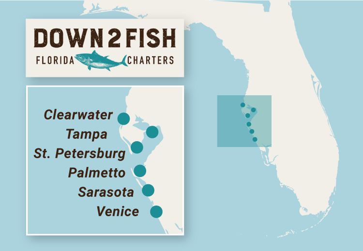 Down2Fish Florida Charter Locations
